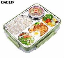 Brotdose Edelstahl auslaufsicher groß Bento Boxen