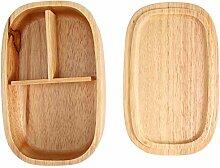Brotdose, Holzbrotdose Lebensmittelbehälter