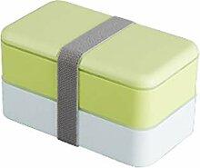 Brotdose lunchbox bento box mit Zwei Fächern