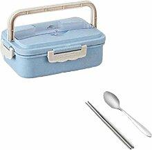 Brotdose Lunchbox Set Tragbare Brotdose mit