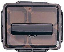 Brotdose mit 5 Fächern, wiederverwendbare