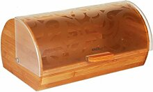 Brotkasten 36 x 21 x 17 cm aus Holz 3615