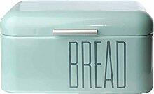 Brotkasten Brotbox Metall Bambus Brotbehälter mit