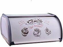 Brotkasten, Metall Aufbewahrungsbox Für Brot,