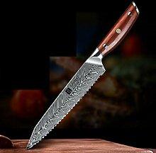 Brotmesser 8,5 '' Zoll gezackten Messer VG10