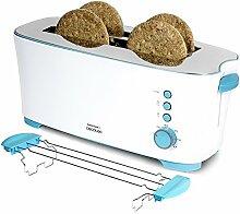 Brotmesser mit Kapazität für vier Scheiben