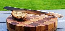 Brotmesser Thiers GOYON-CHAZEAU, Wacholdergriff, made in Frankreich