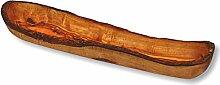 Brotschale Baguette Schale ca 40 x 8 cm Olivenholz