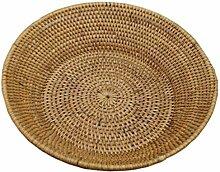 Brotschale Burma aus Rattan, Obstschale Brotkorb