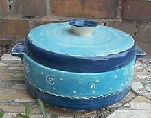 Brottopf mit Griffen Keramik in puncto