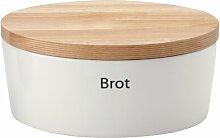 Brottopf oval Profi Continenta Durchmesser: 27cm