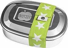 Brotzeit Lunchbox aus Edelstahl - Brotdose -