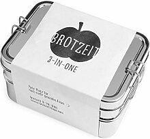 Brotzeit Lunchbox - mehrteilige Brotdose aus