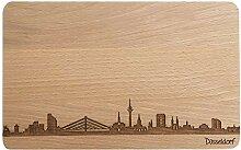 Brotzeitbrett Düsseldorf Skyline |