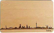 Brotzeitbrett Duisburg Skyline |