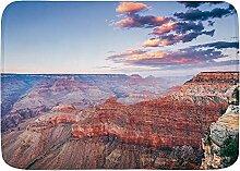 BROWCIN Badematten Panoramablick Grand Canyon