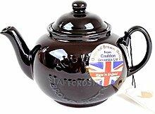 Brown Betty-Teekanne für 4Tassen mit Logo