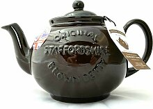 Brown Betty Teekanne mit Logo für 8 Tassen