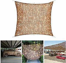 Brown Camo Shade Sun Netting Camouflage