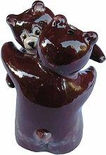 Brown Salt & Pepper Shaker Set (Brown Bears) -