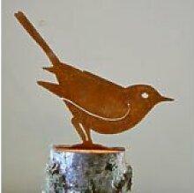 Brown Thrasher Bird Silhouette