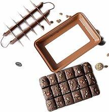 Brownie backform Aufteiler aus Kohlen stoffstahl