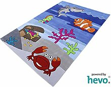 Bruce Unterwasserwelt HEVO® Handtuft Teppich  