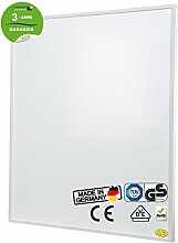 Brudek Infrarotheizung 350 Watt mit Thermostat & Stecker | 3 Jahre Hersteller Garantie | für Ihr Badezimmer | Energieeffizient & Sparsam elektrisch heizen | Wand oder Decken-Montage möglich | Elektroheizung Made in Germany | ECO-Serie