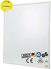 Brudek Infrarotheizung 450 Watt mit Thermostat & Stecker | 3 Jahre Hersteller Garantie | für Ihr Badezimmer | Energieeffizient & Sparsam elektrisch heizen | Wand oder Decken-Montage möglich | Elektroheizung Made in Germany | SUPREME-Serie