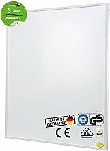 Brudek Infrarotheizung 600 Watt mit Thermostat & Stecker | 3 Jahre Hersteller Garantie | für Ihr Badezimmer | Energieeffizient & Sparsam elektrisch heizen | Wand oder Decken-Montage möglich | Elektroheizung Made in Germany | ECO-Serie