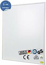 Brudek Infrarotheizung 600 Watt mit Thermostat & Stecker | 5 Jahre Hersteller Garantie | für Ihr Badezimmer | Energieeffizient & Sparsam elektrisch heizen | Wand oder Decken-Montage möglich | Elektroheizung Made in Germany | IMPERIAL-Serie