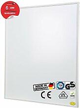 Brudek Infrarotheizung 780 Watt mit Thermostat & Stecker | 6 Jahre Hersteller Garantie | für Ihre Küche | Energieeffizient & Sparsam elektrisch heizen | Wand oder Decken-Montage möglich | Elektroheizung Made in Germany | PRO-Serie
