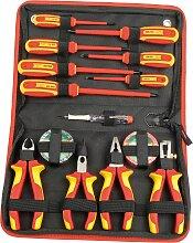 Brüder Mannesmann Werkzeuge Werkzeugset, (Set, 14