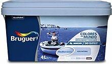Bruguer 5056899 Wandfarbe Colores del Mundo, 4 l -