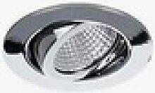 Brumberg 39261 - Einbaustrahler LED dimmbar, Chrom