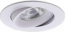 Brumberg LED Decken-Einbaulampe Indiwo83 weiss