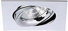 Brumberg LED Decken-Einbaustrahler Indiwo83 Chrom