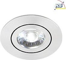 Brumberg LED Einbaustrahler DISC mit Linsenoptik,