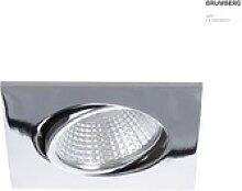 Brumberg LED Einbaustrahler, IP20, quadratisch,