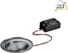 Brumberg LED Einbaustrahler, IP20, rund, 230V AC,