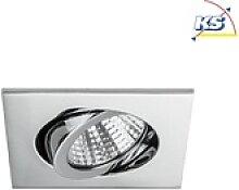 Brumberg LED-Einbaustrahler-Set BB05, IP20, eckig,