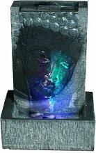 Brunnen Buddha Zimmerbrunnen mit LED Wohnung
