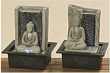 Brunnen Indoor Buddha 2s H26cm Material: Kunstharz
