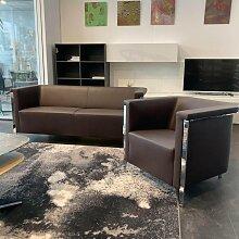Brunner | Sofa 2-Sitzer Collar 9051A Leder Monza