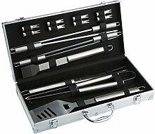 Bruzzzler Grillbesteck im Koffer,