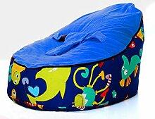 Bryights Bubibag Meer Welt Blauen Fisch Baby