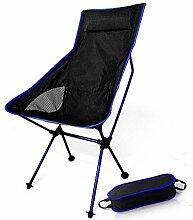 BSDBDF Camping-Klappstuhl, leicht, tragbar,