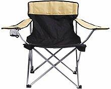 BSDBDF Camping tragbare Stühle Klappstuhl mit