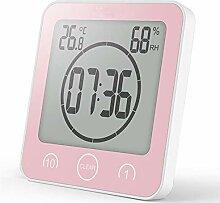 BSDZ Badezimmer Uhr Dusche, Shower Clock Digital