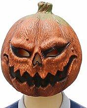 Bsjz Kürbis Kopf Maske Halloween Horror Latex